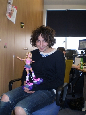 Alex Zane Barbie XFM