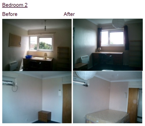 Portmouth Flat Bedroom 2