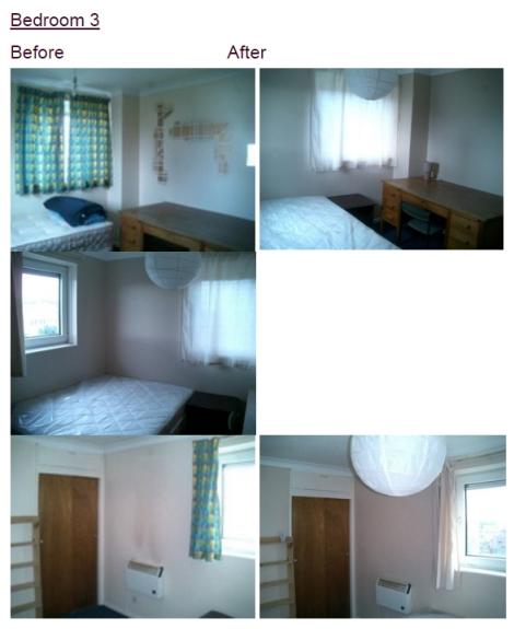 Portmouth Flat Bedroom 3