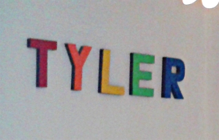 Pop Art Letters - Tyler