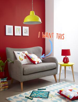 Tesco Geometric Living Room SS15