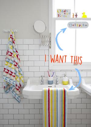 Tesco Geometric Bathroom SS15