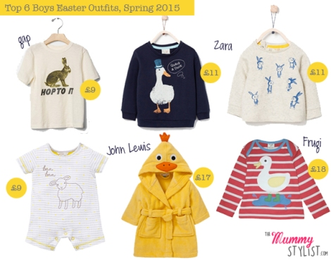Easter Boys Outfits 2015