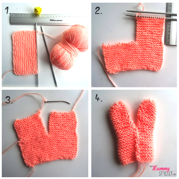 5 Steps To Knit A Bunny Egg Cosy