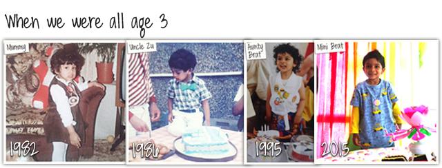 Third Birthday 1982 1986 1992 2015