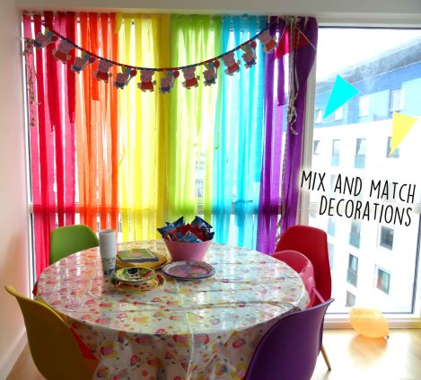 3rd party mix and match rainbow decorations