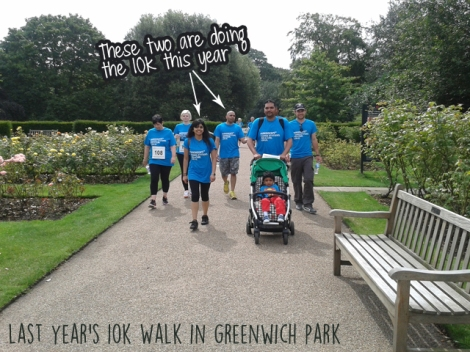 Parkinsons UK Greenwich Walk 2014