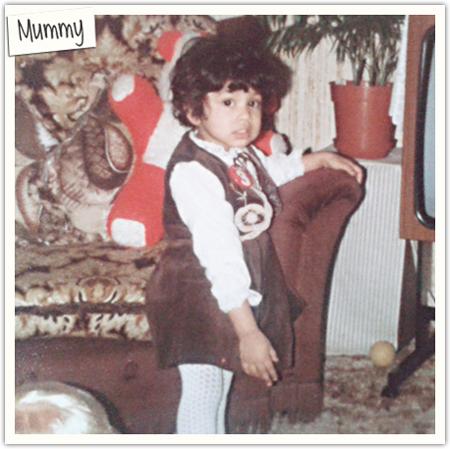 mummy age 3 1982