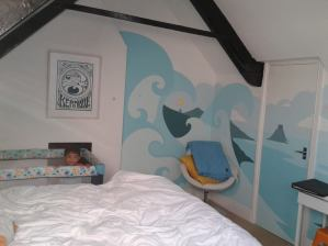 Toddler Trips #5 - Artist Residence Hotel, Penzance, Cornwall 2013