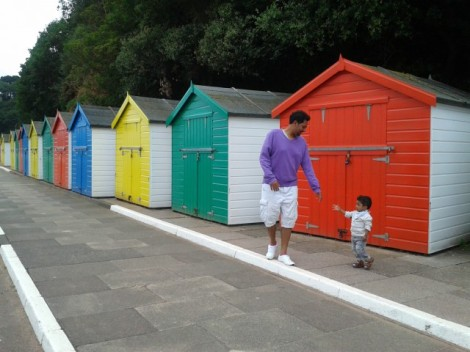 Dawlish Beach Huts