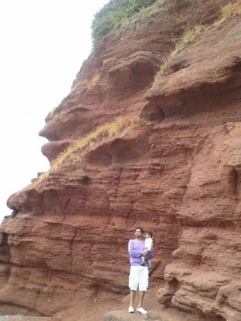 Dawlish Red Cliffs