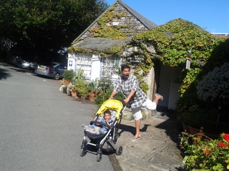 St Ives, Cornwall - Garrack Hotel 2013