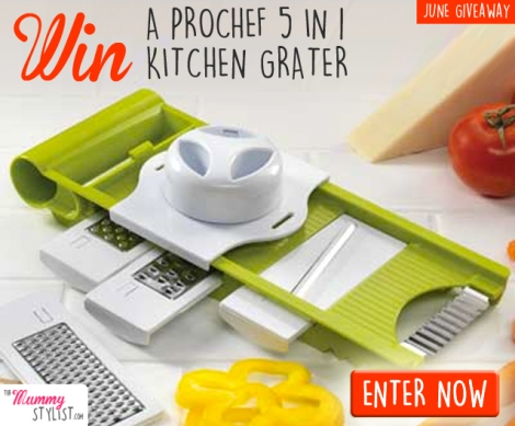 June Giveaway - 5 in 1 Kitchen Grater