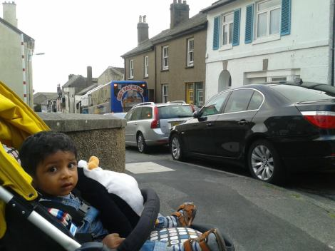 Toddler Trips #5 - Penzance, Cornwall 2013