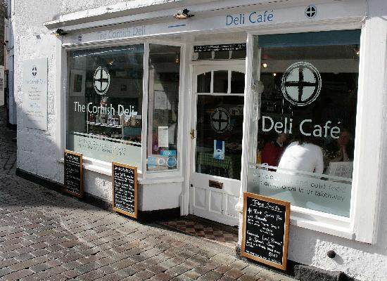 The Cornish Deli Cafe, St Ives, Cornwall