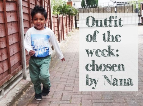 H&M Toddler Boy Outfit chosen by grandparents