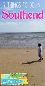 Southend Essex toddler trips