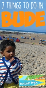 Toddler trips BUDE