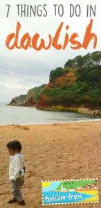 toddler trips dawlish