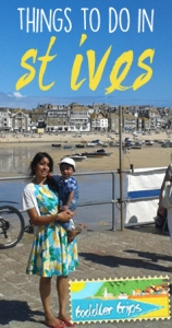 Toddler- trips- st ives