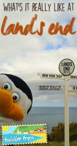 Toddler Trips - Land's End Cornwall