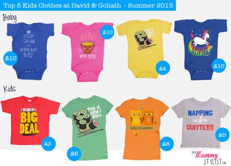 Top 8 Kids Clothes at David and Goliath