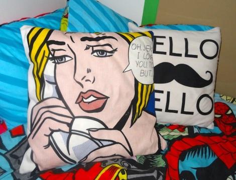 Pop Art Bedroom Makeover