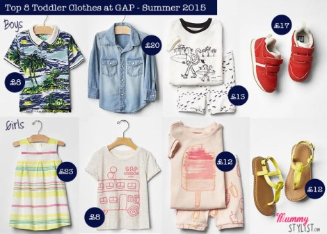 Top 8 Toddler Clothes - GAP