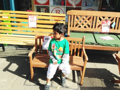 Toddler Bench - Robert Dyas, Windsor