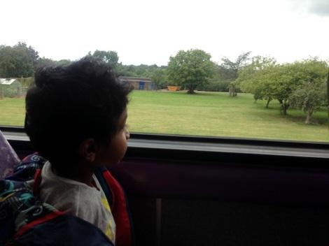 U4 bus to Uxbridge