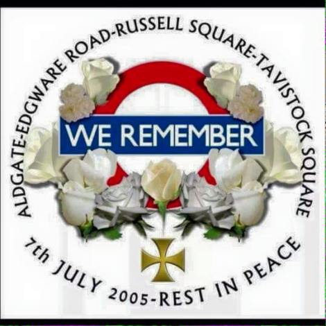 7/7 we remember london bombings