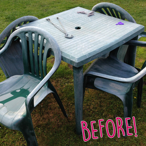 Diy Old Garden Furniture Back To Life The Mummy Stylist