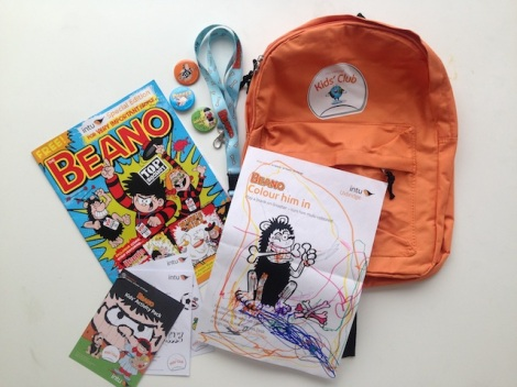 Beano Takeover - intu Uxbridge Kids Club