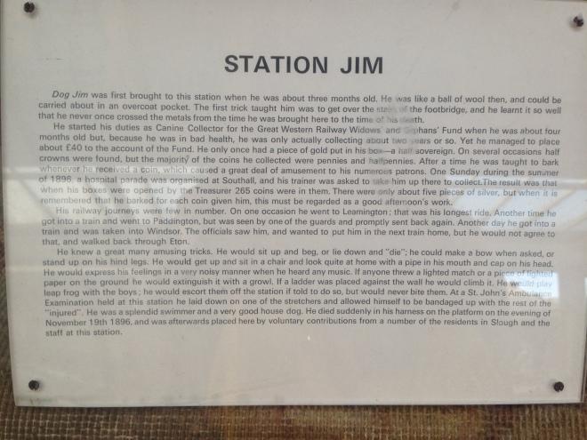 Station Jim, Slough