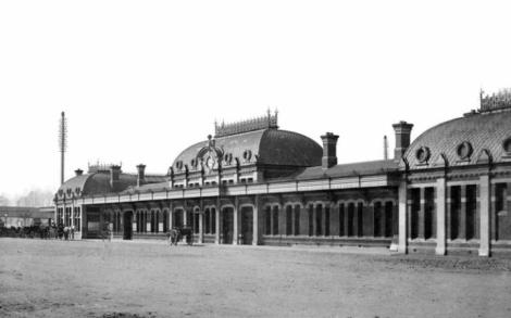 Slough Station 1884