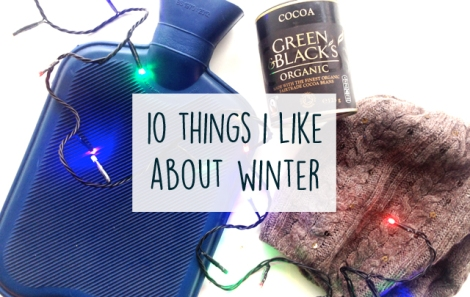 10 Things I like about winter