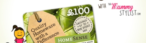 Win a £100 HomeSense Gift Card Competition November 2015
