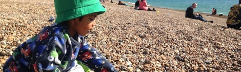 Autumn Toddler Seaside Trip - Brighton - September 2015