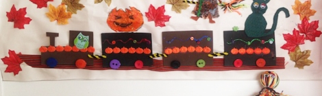 Halloween Craft Bostik Bloggers