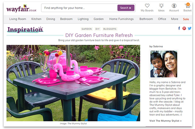 Wayfair - The Mummy Stylist