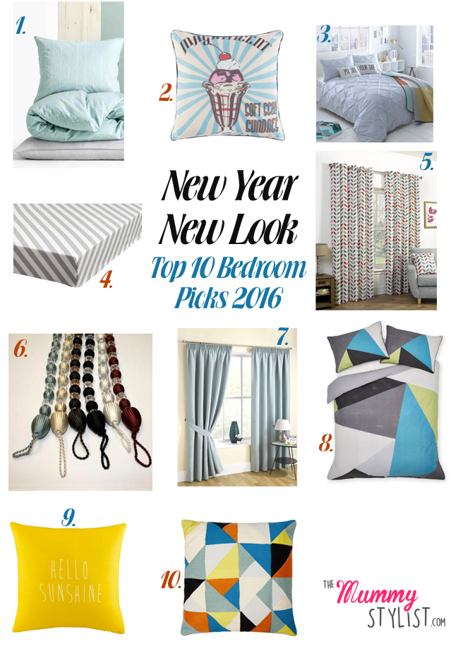 New year new look for the bedroom 2016 the mummy stylist for Bedroom looks for 2016