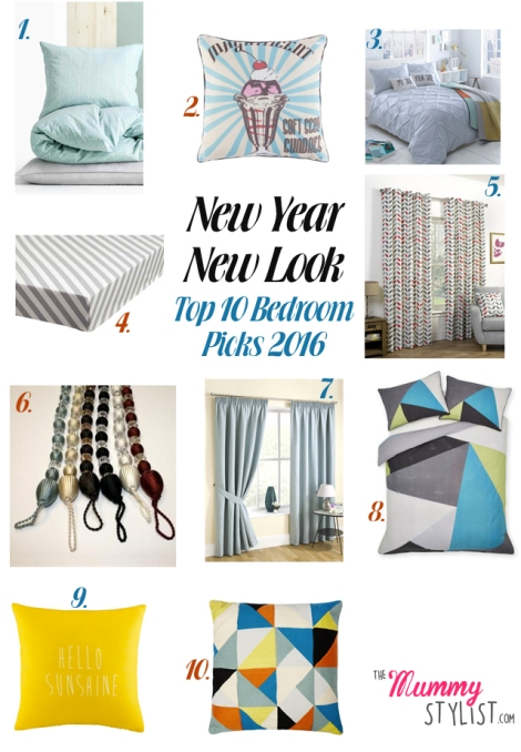 Top 10 Bedroom Picks for the New Year 2016