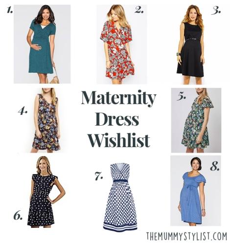 Maternity Dress Wishlist 2016