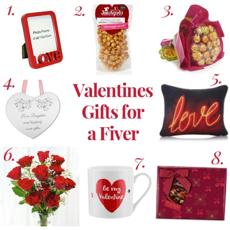 Valentines Gifts for a Fiver