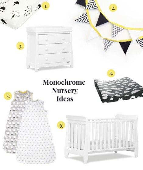 monochrome-baby-nursery-moodbord
