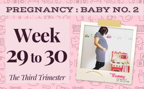 Pregnancy-Second-Trimester-Week-29-30