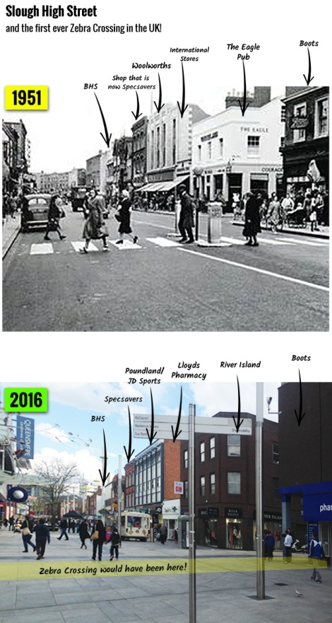 Slough-High-Street-First-Zebra-Crossing-1951-2016