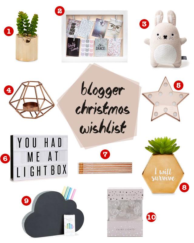 A Blogger Christmas Wishlist | The Mummy Stylist