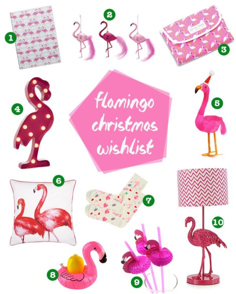 flamingo xmas gift guide