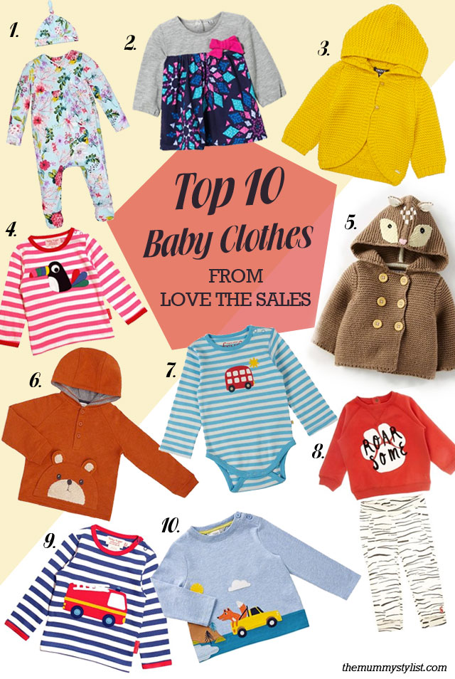 Top 10 Baby Clothes from Love the Sales